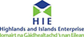 Logo of  Highlands and Islands Enterprise with a link to their website They have provide us with support